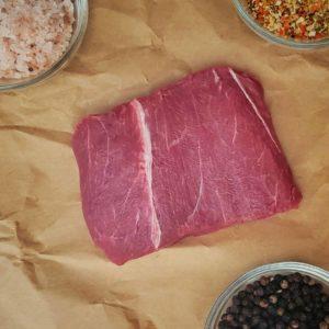 All-Natural Bison Flat Iron steak