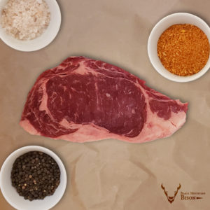 All-Natural Bison Ribeye Steak