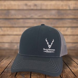 Black Mountain Bison Trucker Hat