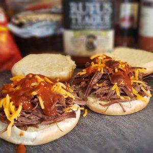 BBQ Bison Sliders